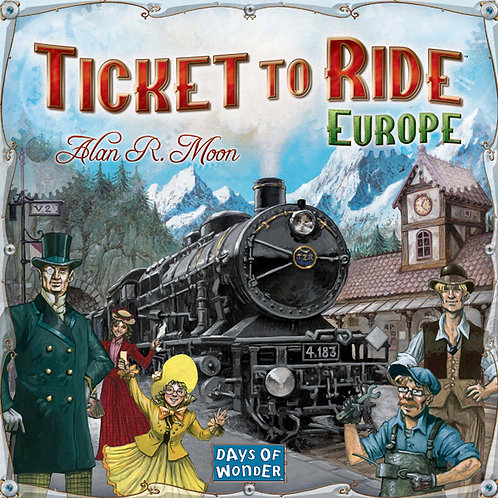 Ticket to Ride, Europe