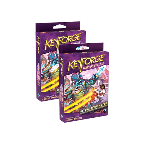 KeyForge Worlds Collide Deck 2 PACKS
