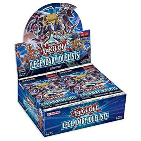 Yugi Oh Legendary Duelist Booster Box