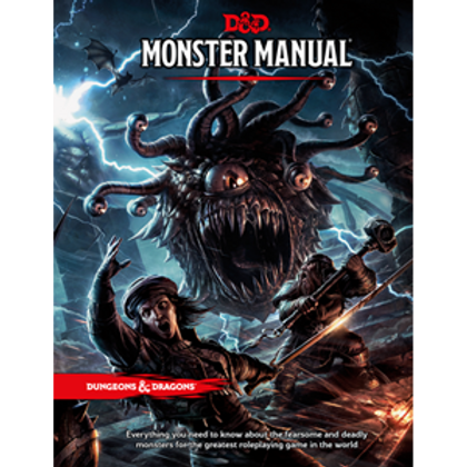 Dungeons & Dragons (Monster Manual) 5th edition