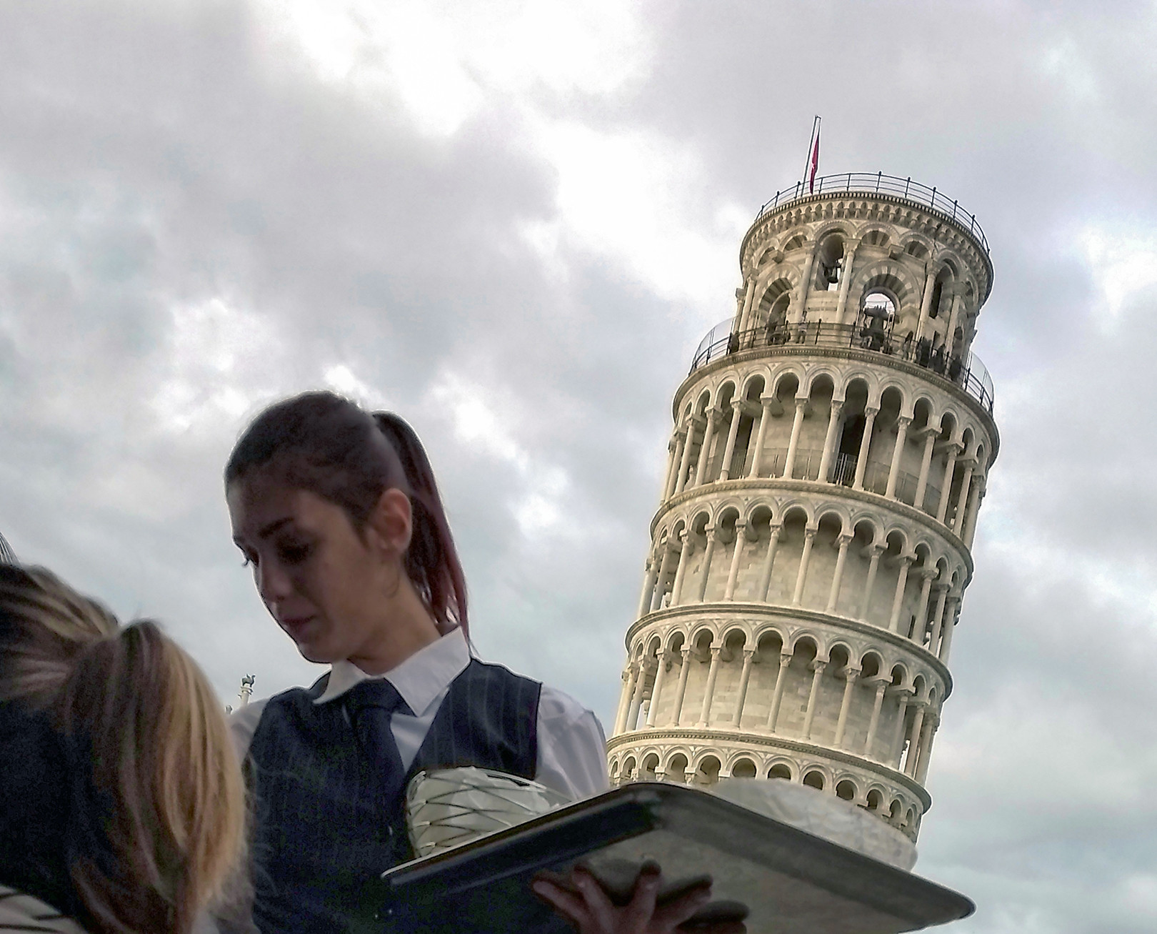 Pisa Tower Cake