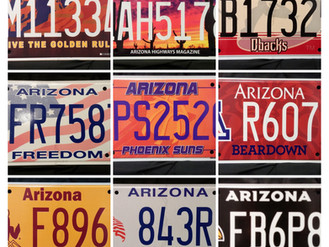 How To Get A Specialized or Personalized Plate