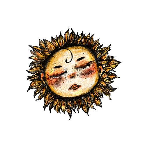Sun Baby Sticker