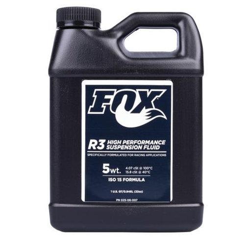 Fox Suspension Fluid [1.00 Quart] R3, 5WT, ISO 15