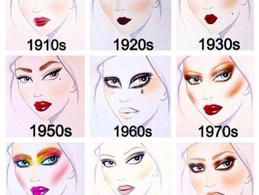 Make-up im Wandel der Zeit