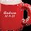 Thumbnail: Red Engravable Mug