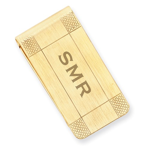 Money Clip Gold Plated