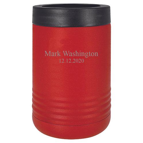 Red Vacuum Insulated Beverage Holder
