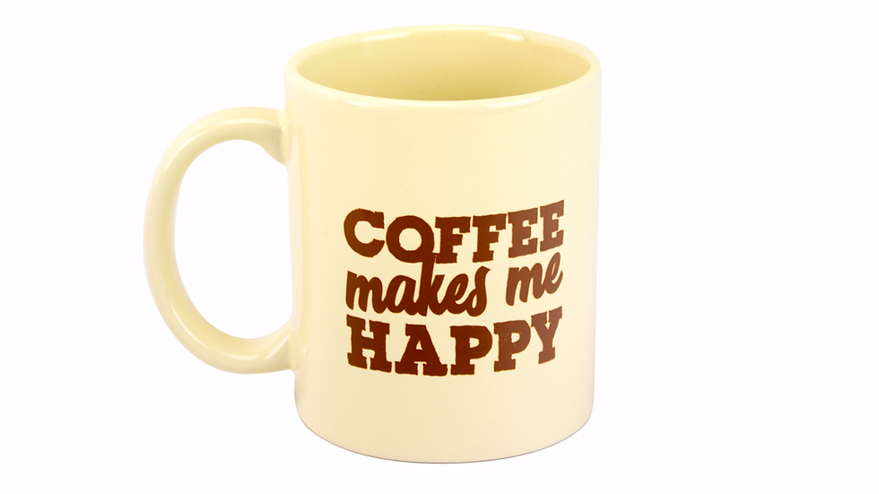 Coffee Makes Me Happy Mug