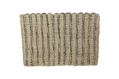 Placemat sisal rustic dark blue