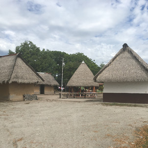 The village of La Chamba Colombia