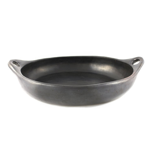 * Oval oven dish + handle