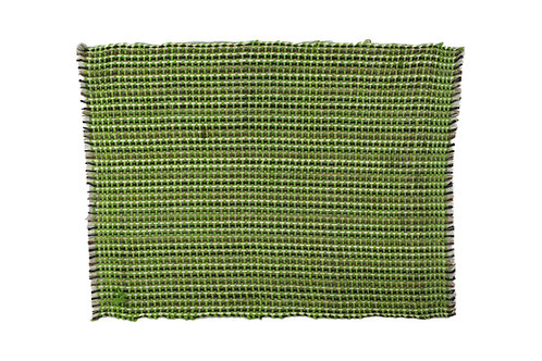 * Placemat sisal green