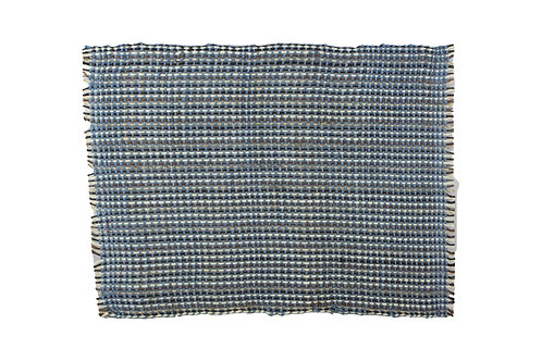 * Placemat sisal blue