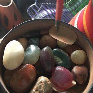semi-precious stones of agate