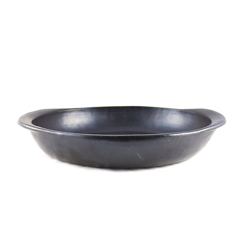 * Flat Oval Oven Dish