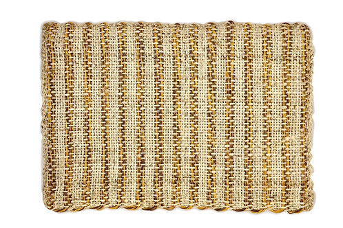 * Placemat sisal rustic yellow