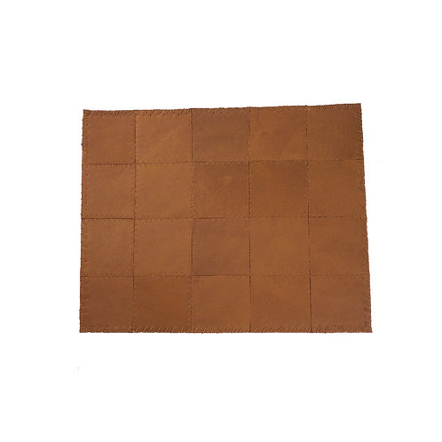 * Placemat leather natural
