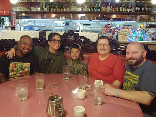 Dinner with Stephanie & Brian