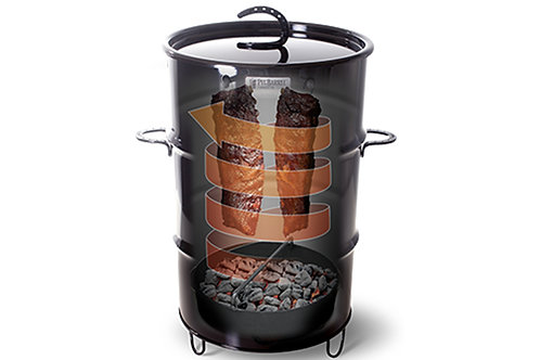 Proof BBQ / Makers Mark Drum Smoker Starters Pack