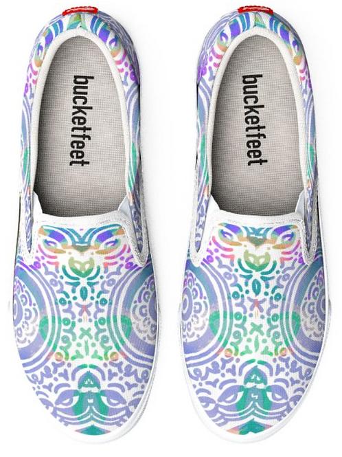 Hip & Groovy Design Slip on Sneakers