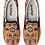 Thumbnail: Fall Orange Art Slip on Sneakers