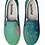 Thumbnail: Abstract Design Green Slip on Gym Shoes