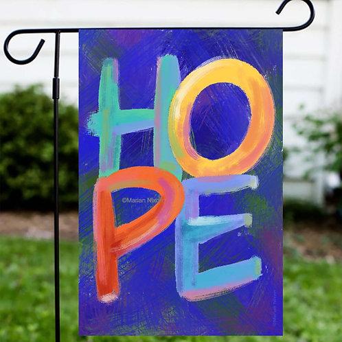 HOPE Garden or House Flag, Door or Window Hanger