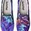 Thumbnail: Night Garden Design Slip on Sneakers