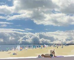 092015 Foster Beach Clouds lo
