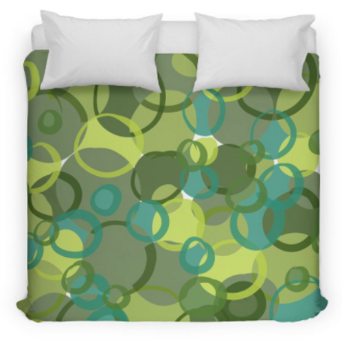 Green Camouflage Bedding/Duvet Cover
