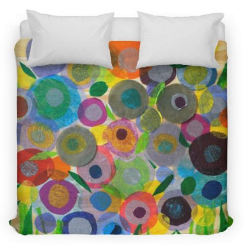 Circle Garden Bedding/Duvet Cover