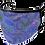 Thumbnail: Blue Paisley Face Mask or Neck Gaiter