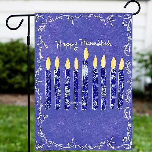 Hanukkah Garden or House Flag, Chanukah Decorations