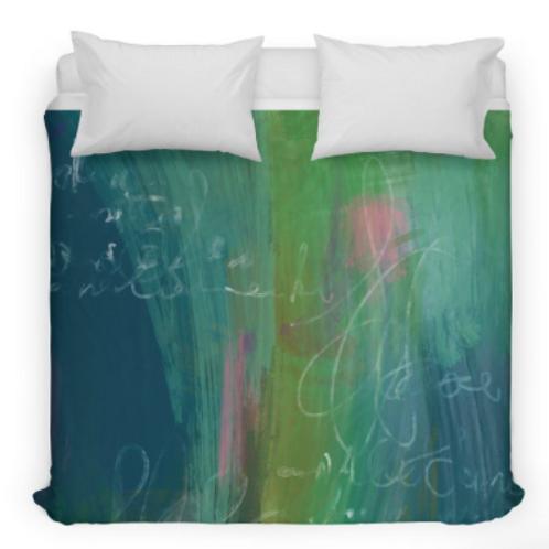 Green Abstract Bedding/Duvet Cover