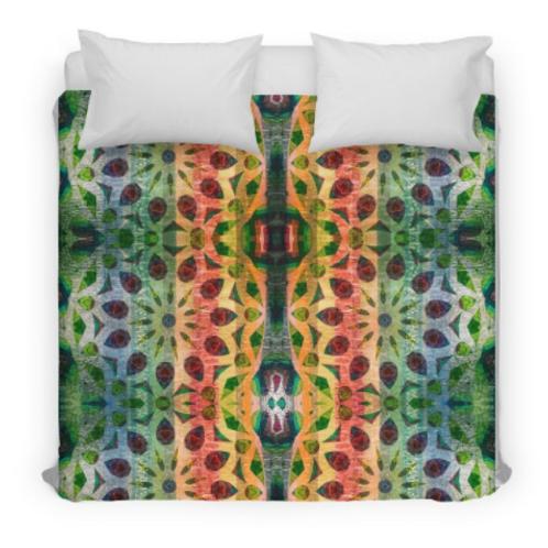 Color Extravaganza Design Bed Duvet Cover