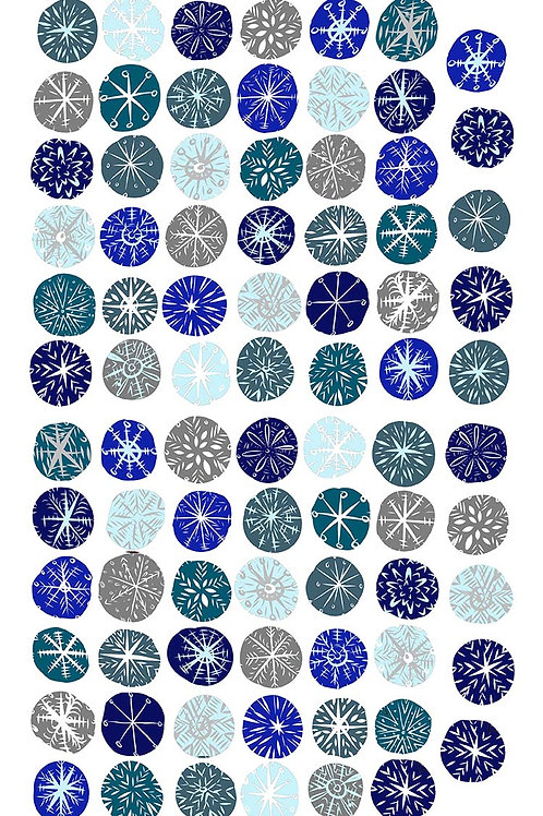 Snowflake Wall Stickers, Christmas Decorations, Winter Holiday Room Decals
