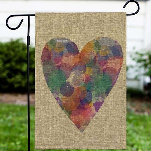 Love Flag, Heart Door Hanger