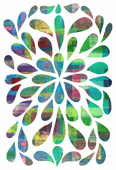 Room Stickers Flower Power Wall Decals
