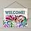 Thumbnail: Welcome Door or Porch Sign, Indoor/Outdoor Decor