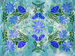 web17B40 Floral Pool