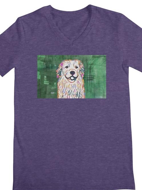 Golden Retriever Dog Art T-Shirts