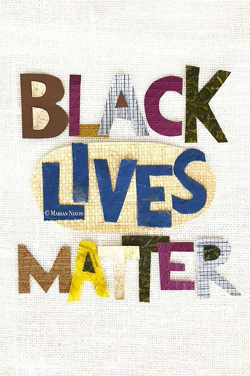 Black Lives Matter Art Print, BLM Office Wall Decor