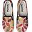 Thumbnail: Wood Mandala Design Slip on Sneakers
