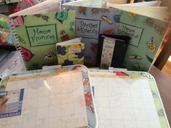 Home organizers, journals