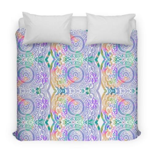 Hip & Groovy Design Bed Duvet Cover