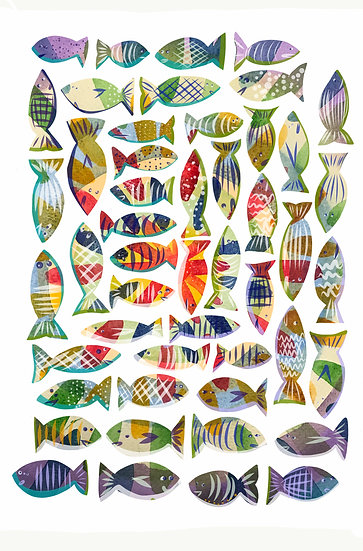 Fish Wall Decals, Under The Sea Stickers