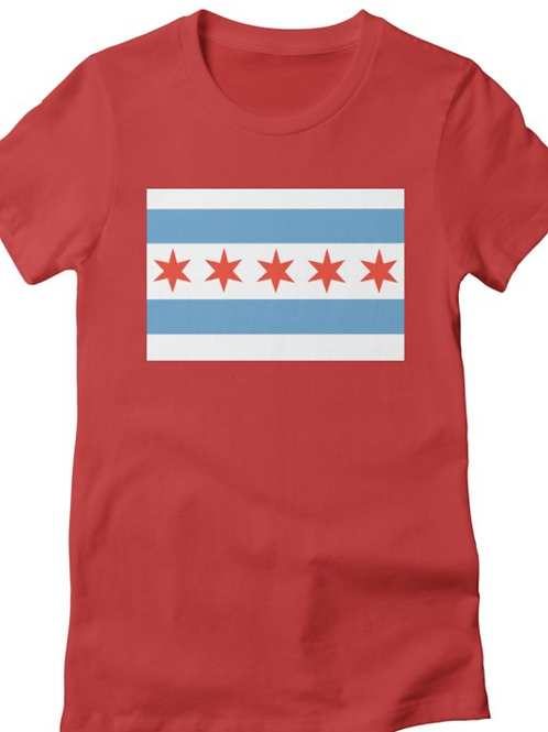 Chicago Flag 5-Star T-Shirts, Baby Onesies