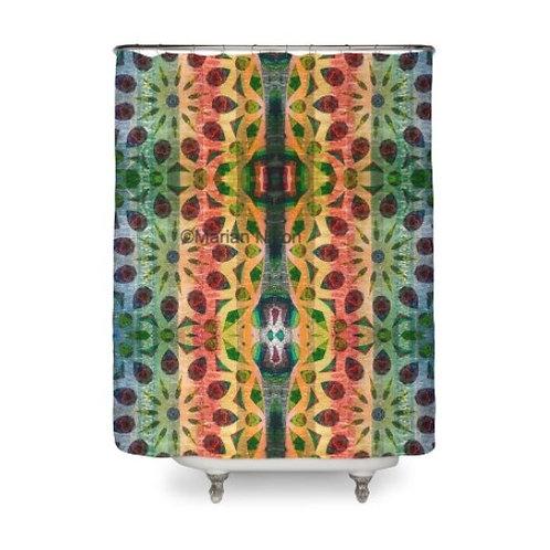 Color Extravaganza Design Shower Curtain