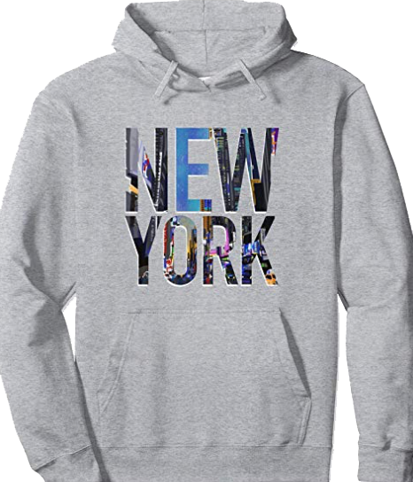 New York City Hoodies & Shirts, NYC Gift, Manhattan Sweatshirt